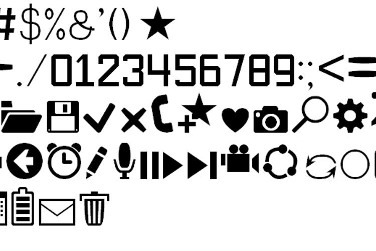 Software Kit 7 Font