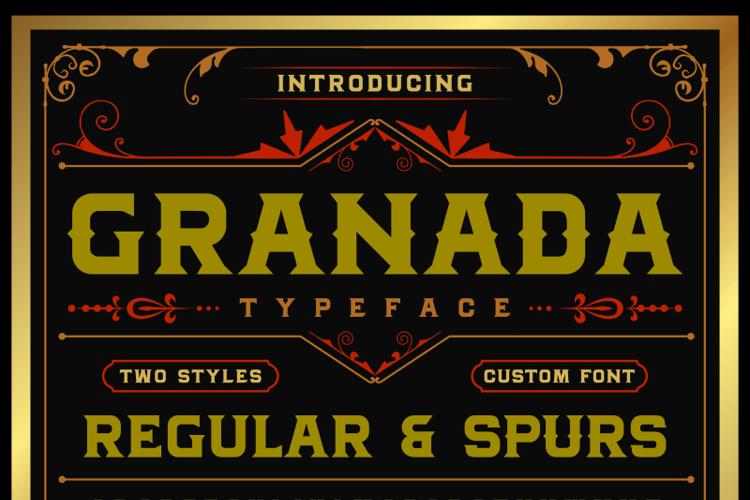 MJ Granada Font