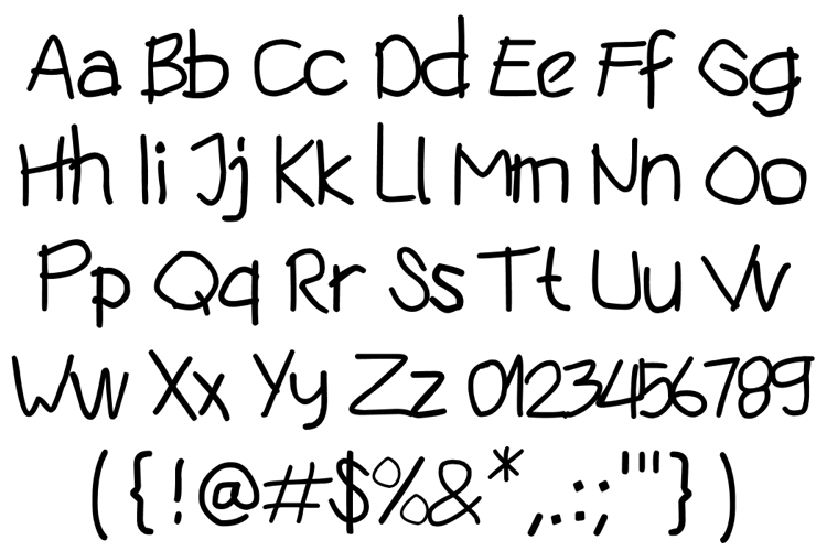 silly bug Font