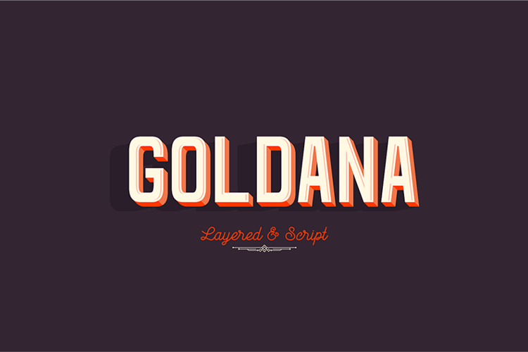 Goldana Base Font