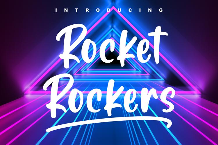 Rocket Rockers Font