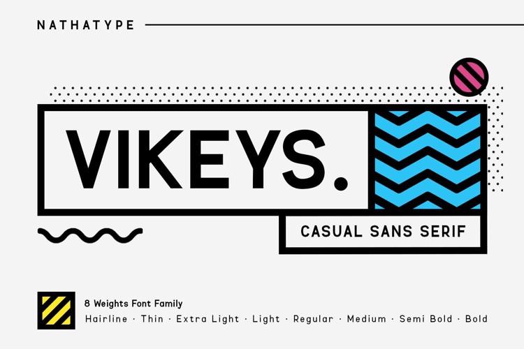 VIKEYS Font