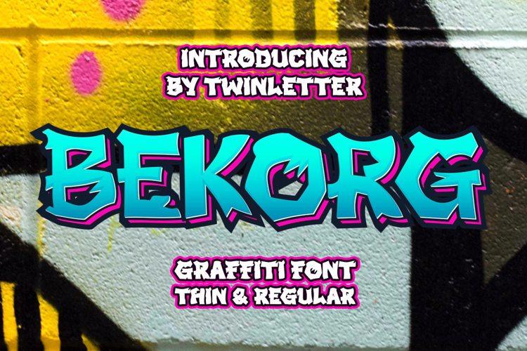 BEKORG Font