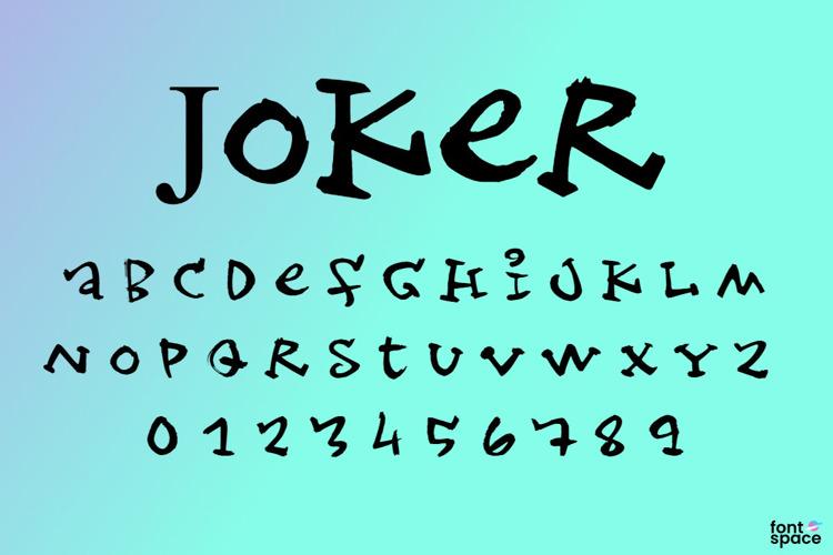 Joker Font