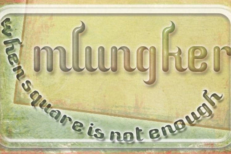 Mlungker Font