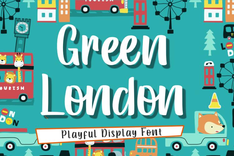 Green London Font