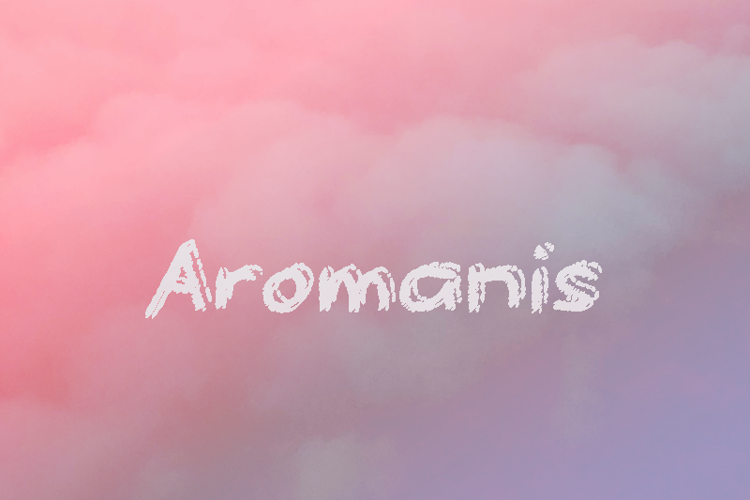 a Aromanis Font