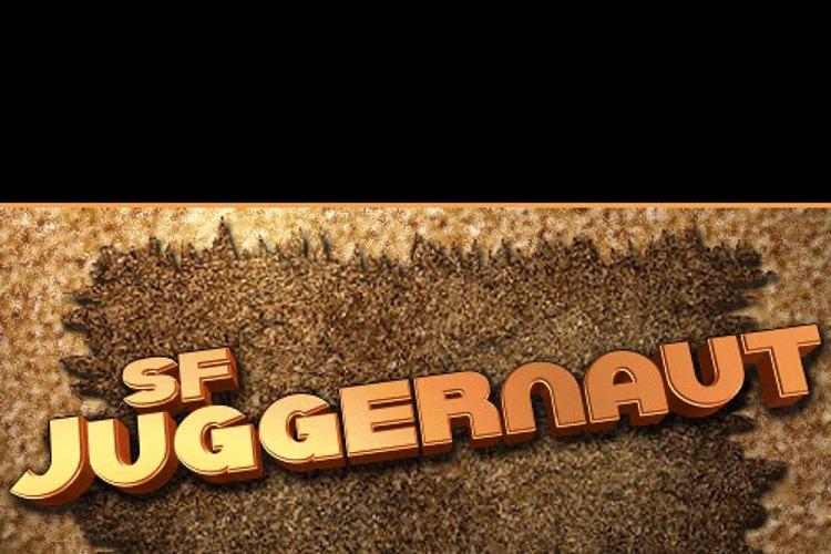 SF Juggernaut Font
