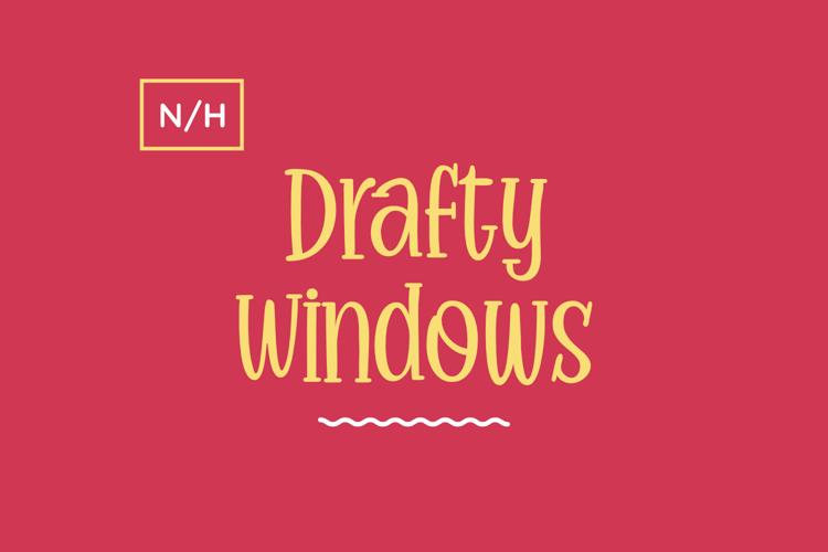 Drafty Windows Font