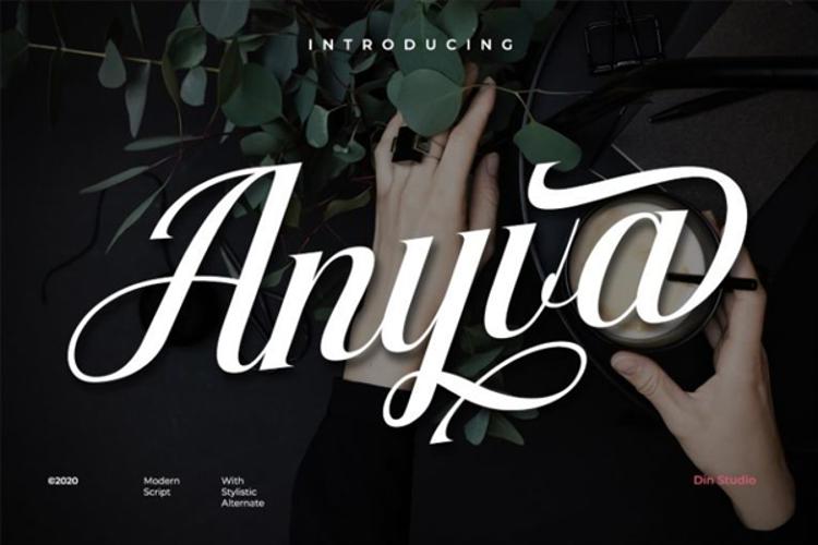 Anyva Font