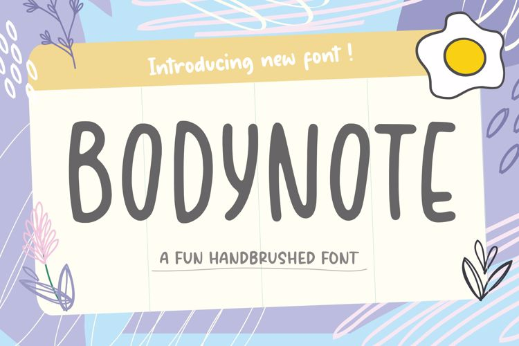 BODYNOTE Font