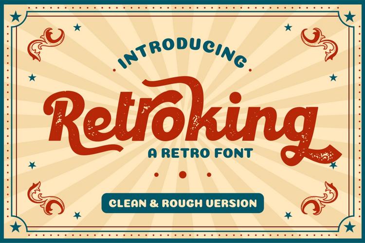 Retroking Font