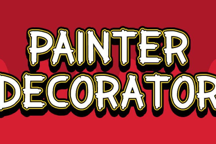 Painter Decorator Font