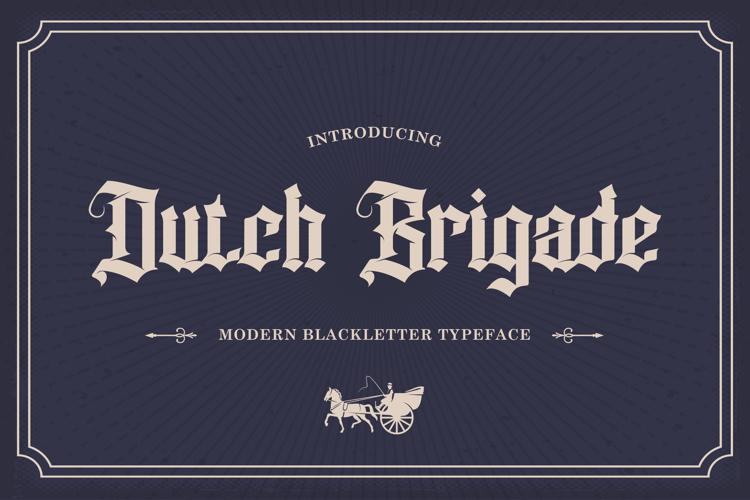 Dutchbrigade Font