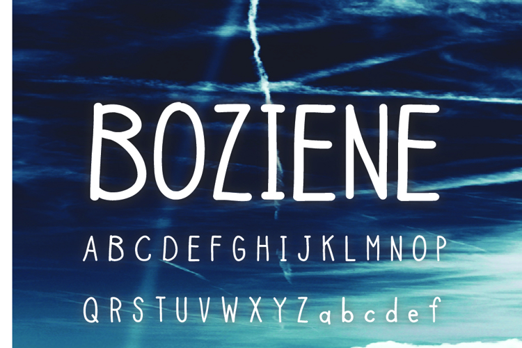 Boziene Font
