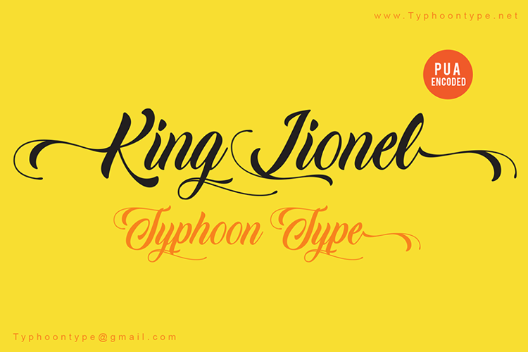 King Lionel (Personal Use) Font