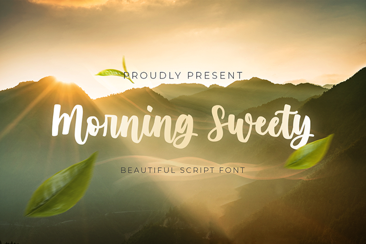 Morning Sweety Font
