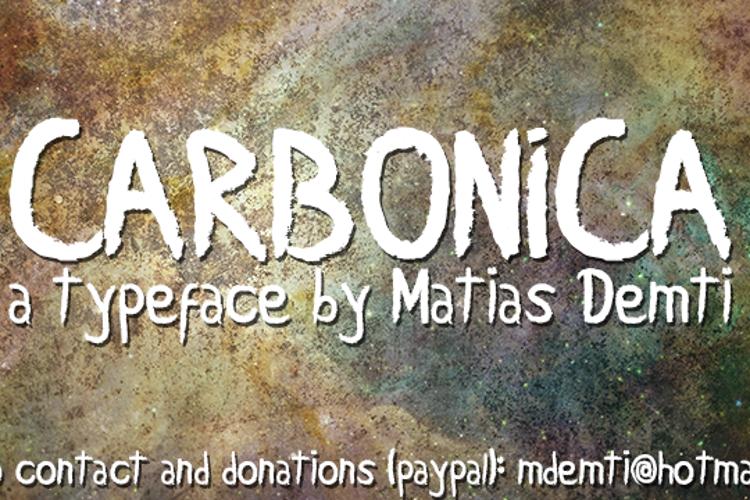Carbonica Font
