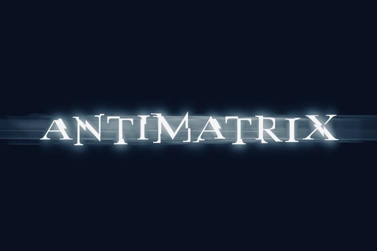 antimatrix Font