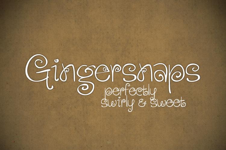 Gingersnaps Font