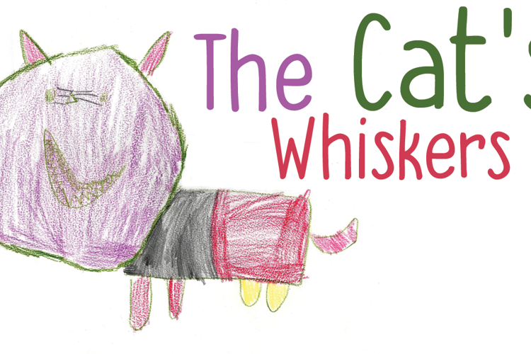DK The Cats Whiskers Font
