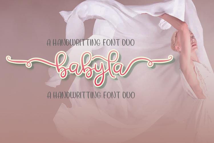 Babyla Font