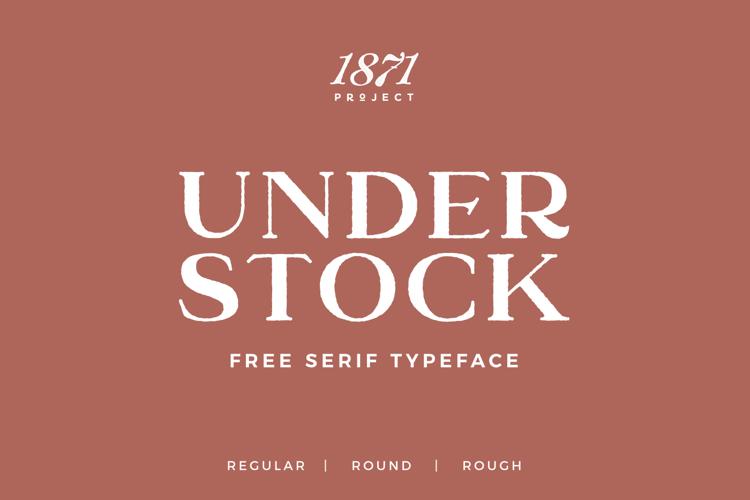 Understock Font