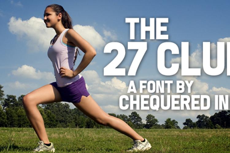 The 27 Club Font