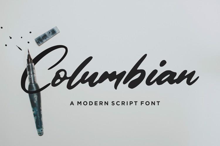 Columbian Font