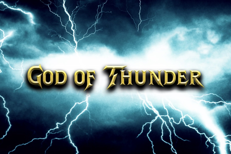 God of Thunder Font