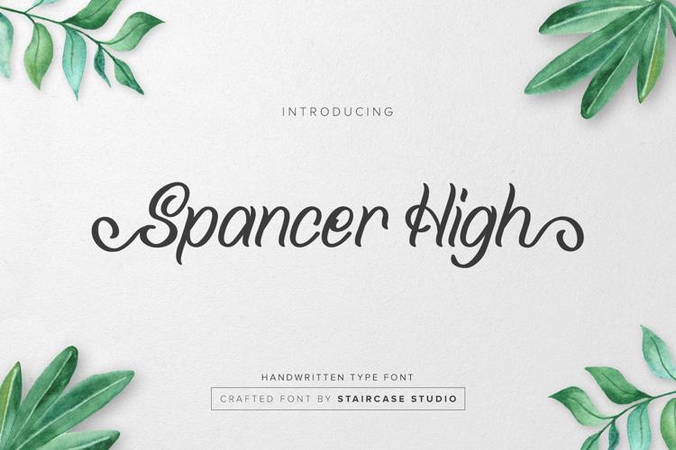 Spancer High Font