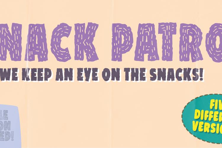 Snack Patrol DEMO Font