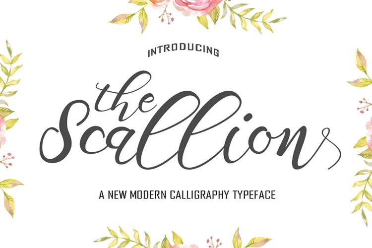 Scallion Font