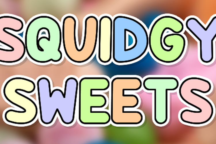 Squidgy Sweets Font