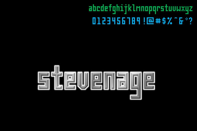 Stevenage NBP Font