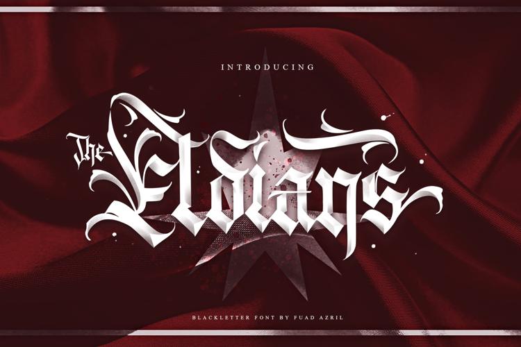 The Eldians Font