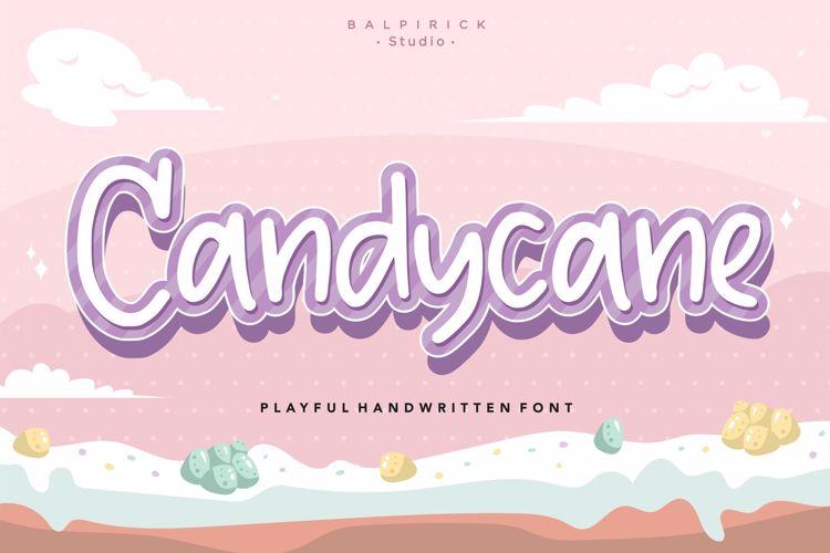 Candycane Font