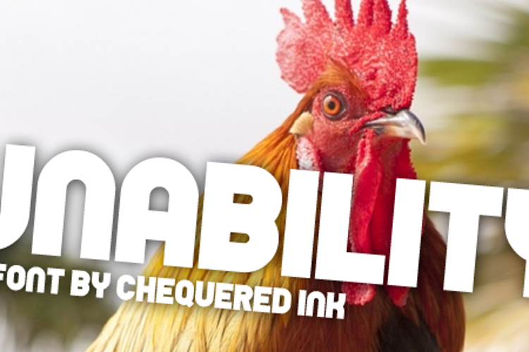 Unability Font