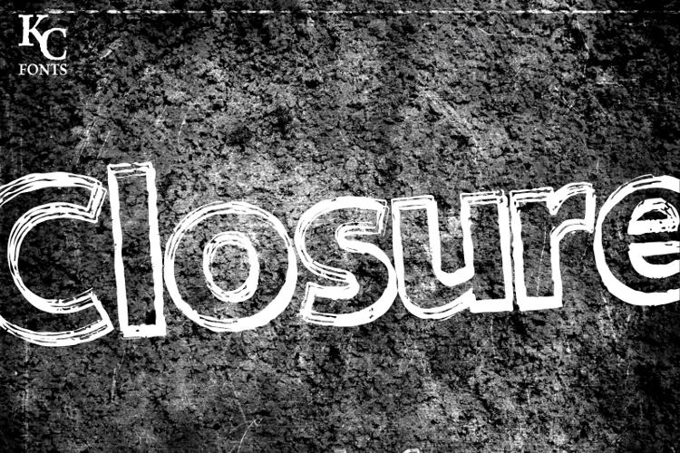 Closure Font