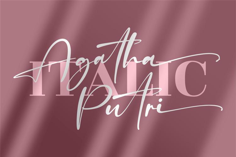 Agatha Putri Font
