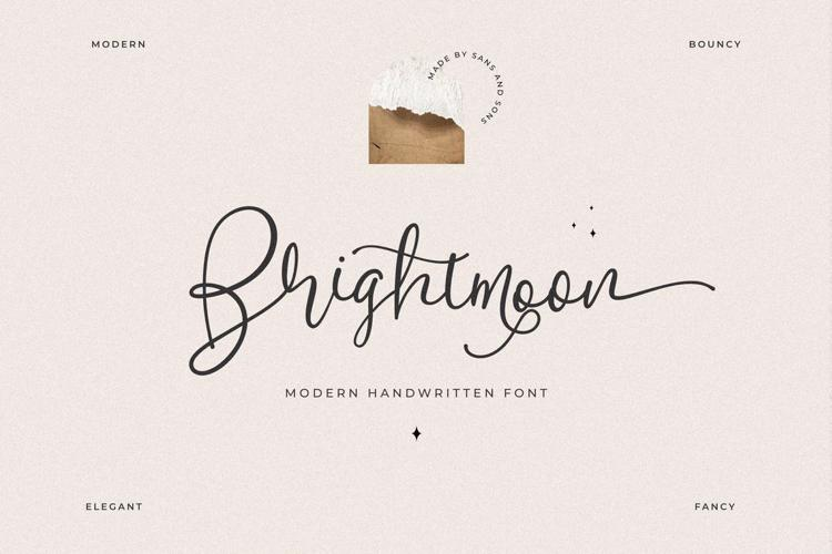 Brightmoon Font