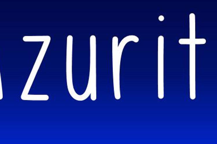 Azurite Font