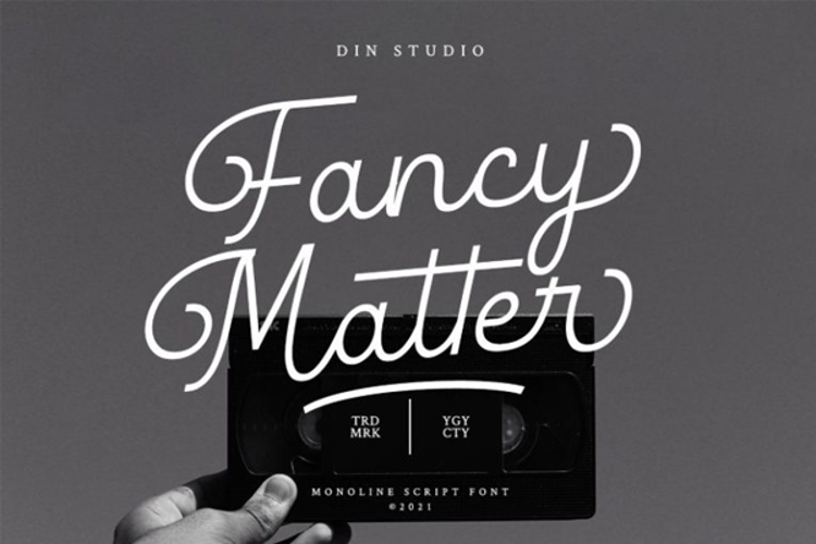 Fancy Matter Font