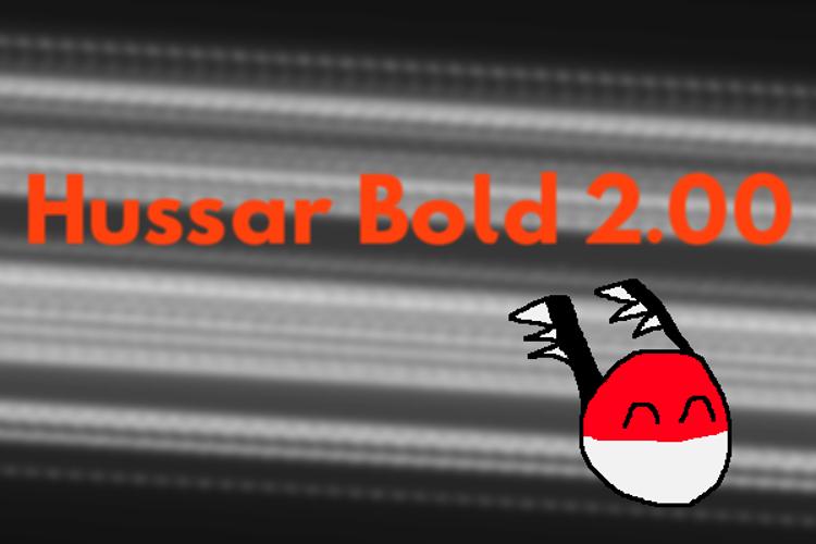 Hussar Font