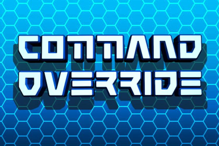 Command Override Font