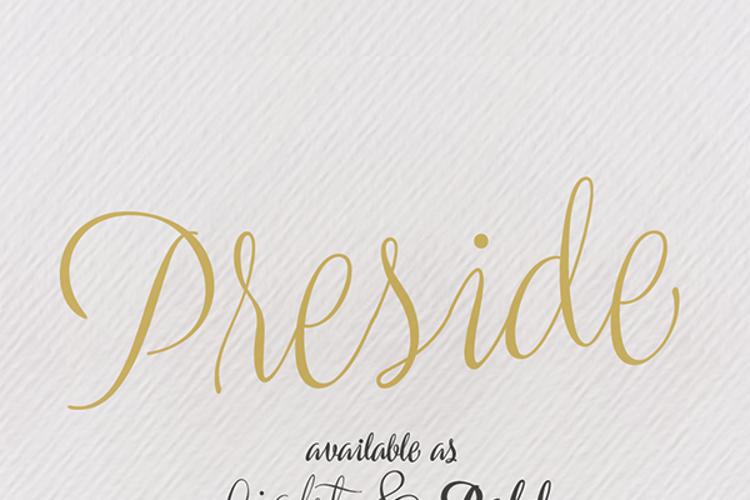 Preside Font