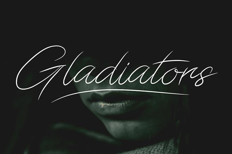 Gladiators Font