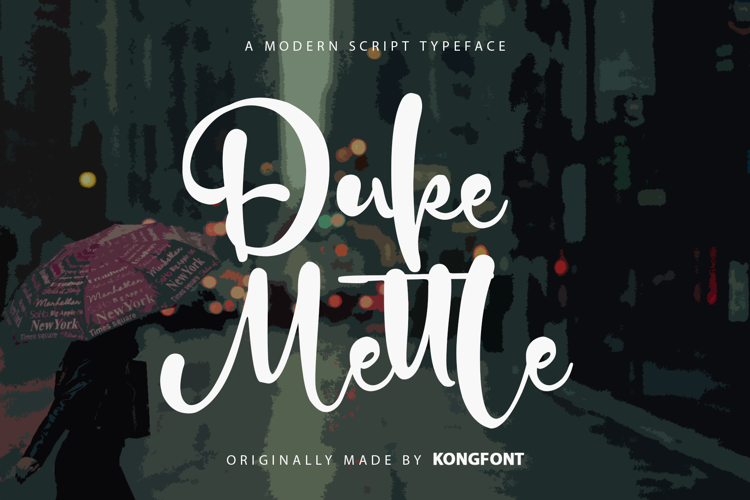 Duke Mettle Font