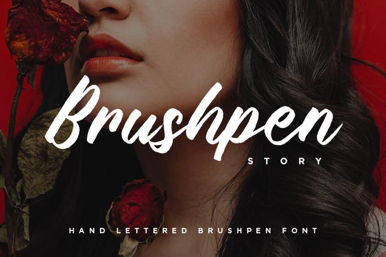 Brushpen Story Font