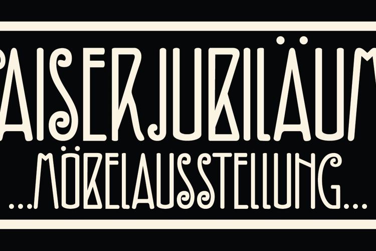 DK Fiebiger Zwei Font